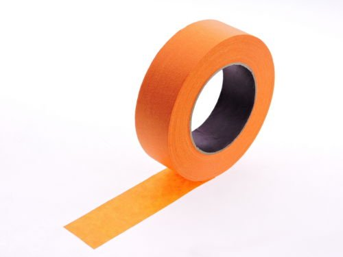 """4pk 1 1/2"""" x 60 yd Orange Painters Tape PROFESSIONAL Grade Masking Edge Trim Easy Removal (36MM 1.5 in) Photo #2"""