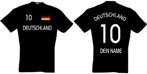 Deutschland Trikot mit Wunschname und Wunschnummer |S
