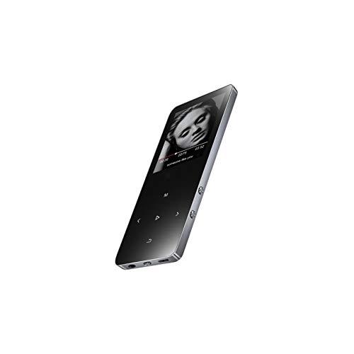 Lecteur de Musique Son MP3 Bluetooth MP3 MP4 HiFi écran Tactile de 1,8 pouces (, Black)