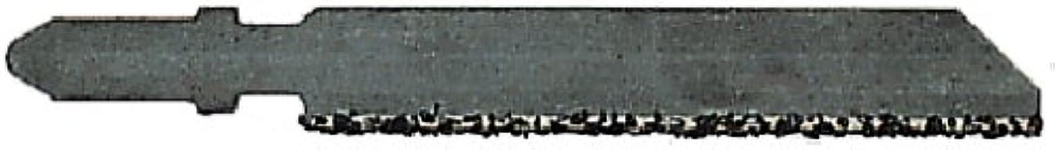 Metabo 623658000 623658000-Blister de 1 Hojas de Sierra de calar, Cristal, Hierro Fundido Otros cerámicos. HM-espolvor. 51 mm, Negro