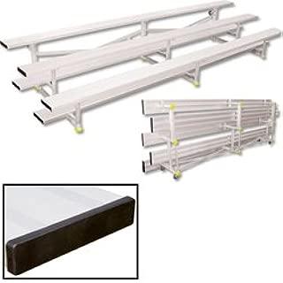3 row aluminum bleachers