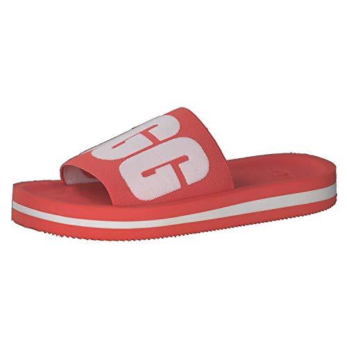 UGG Women's Slide Sandal, POP Coral, 5 B (M)