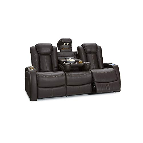Seatcraft Omega Home Theater Seating - Leather Gel - Power Recline - Power...