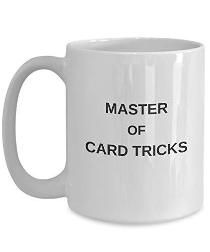 Cukudy grappige kaart trucs koffie mok cadeau - Magic Performer goochelaar mok