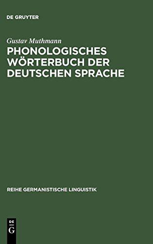 Phonologisches Wörterbuch der deutschen Sprache (Reihe Germanistische Linguistik, Band 163)