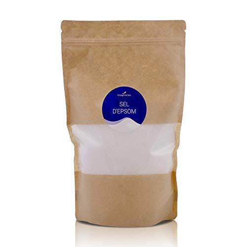 Sel d'Epsom - 1kg - Sel pour le bain, gommages, bain de pieds