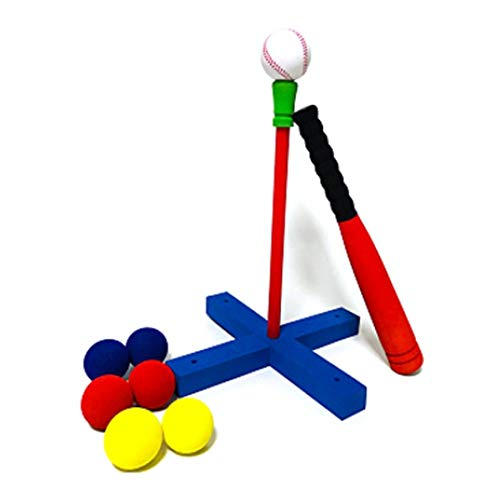 JVSISM Kinder Baseball Set Kinder Garten Weiche Sicherheit Baseball Training Au?En Sports Fitness Ball Schaum Spielzeug
