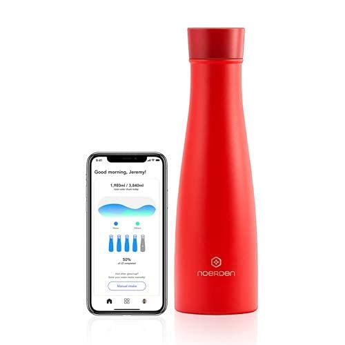 NOERDEN LIZ 16 oz - Smart Bottle - Red