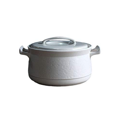 CJTMY Cazuela de Gas doméstico cazuela de Sopa de Olla Grande Llama de cerámica crisol de la Sopa Sopa de Olla Sopa de Olla