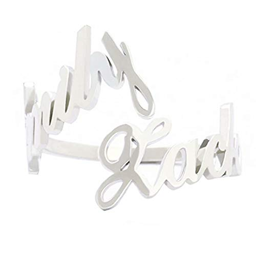Anillo con nombre personalizado, anillo con inicial con letra personalizada, anillo abierto, anillos ajustables chapados en oro real de 18 quilates personalizados, regalo para mujer, aniversario