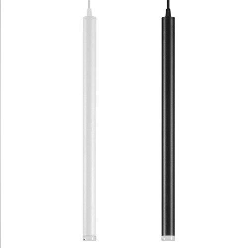 Led Ciondolo lampada luce del cilindro Isola per cucina sala da pranzo Bar negozio decorazione contatore tubo cilindro pendente cucina luminosa lampade,Bianco,310mm 5w,bianco caldo