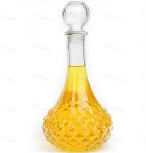 RQWY Decanter 1 st Hot Koop Nieuwe Aankomst Kristal Whiskey Wijnschot Glazen Fles met Cap Stopper Drinkbar Decanter