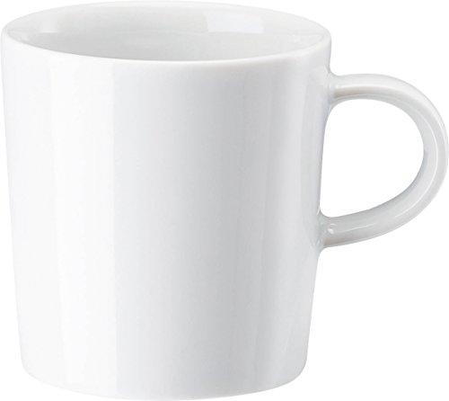 Arzberg Cucina-Basic ROK wit espresso-kopje, porselein, wit, 20,1 x 14,8 x 7,6 cm