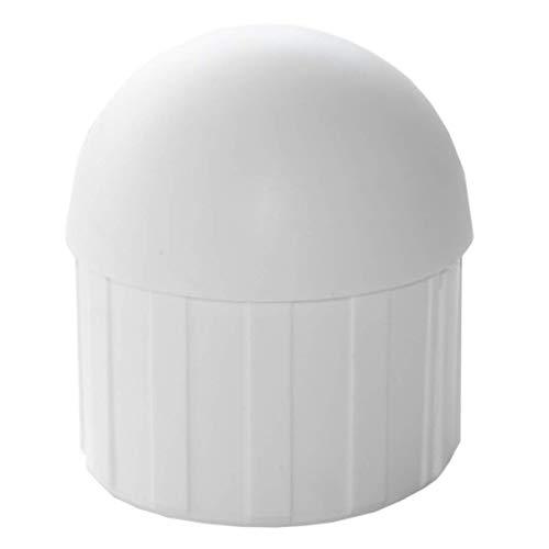 Sun Garden Rohrendkappe für Easy Sun Ampelschirm (Weiß)