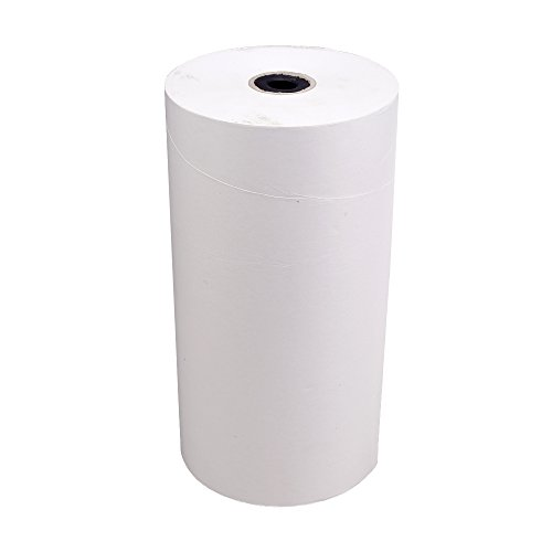 8x Lebensmitteleinschlagpapier, Einschlagpapier, Rolle, Weiß, 40 cm x 400 m