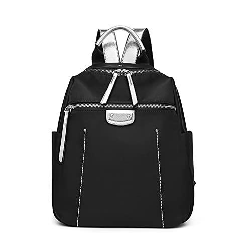 QIANJINGCQ Bolso de hombro a la moda, versátil, de ocio, viajes al aire libre, bolso de gran capacidad, diseño simple, temperamento de color puro, mochila de empalme