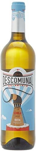 Descomunal Verdejo Vino blanco D.O Rueda- 6 Botellas de 750 ml - Total: 4500 ml