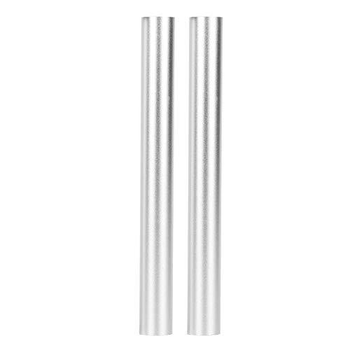 Tubo de Aluminio Redondo de 2 Piezas, Tubo de Aluminio de 145 Mm, Peso Aproximado de 21,1 Gramos Por Tubo, Diámetro Exterior de Aproximadamente 15,7 Mm Para Robots Industriales