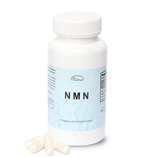 31G4W7mHuvS. SL500  - Ruitrue NMN Nicotinamide Mononucleotide Supplement NAD Supplement Life Extension NMN Content 150mg per Capsule Anti Aging Supplement Longevity Vitamins (1 Pack 60 Capsules)