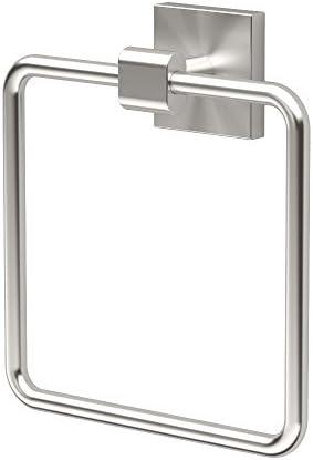 Gatco 4072 Elevate Towel Ring Satin Nickel product image