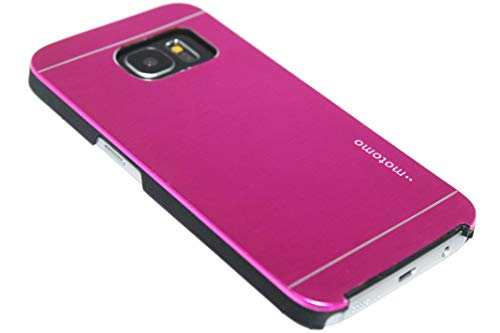 Adel Aluminium Plastica Hardcase Custodia Cellulare Compatibile con Samsung Galaxy S7 - Viola