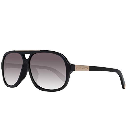 DSQUARED2 Sonnenbrille DQ9157 01A 63 Gafas de sol, Negro (Schwarz), 63.0 para Hombre