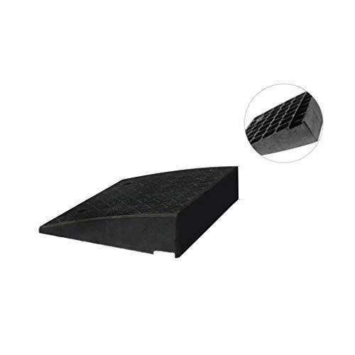 ChenB- Small Tools zwarte verhuisingoprijplaat, rolstoel auto off-road auto-Threshold hellingkastje woning fabriek curb helling grootte: 47,3 * 41,5 * 10,7 cm