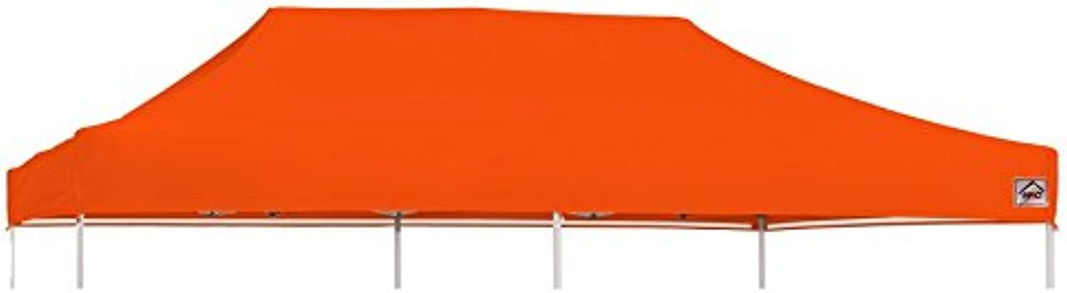 Impact Canopy 10 x 20 Replacement Pop Up Tent Cover, Instant Outdoor Gazebo Shelter Tent Cover, orange