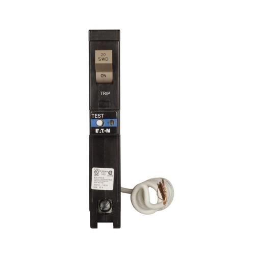 Eaton CHFAFGF120 Plug-On Mount Type CH Dual Purpose AFCI/GFCI Circuit Breaker 1-Pole 20 Amp 120 Volt AC