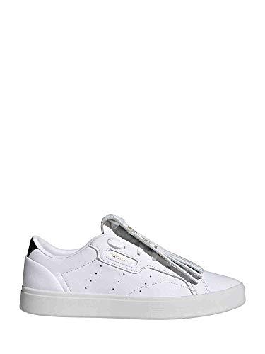 adidas Sleek W, Zapatillas Deportivas Mujer, FTWR White Core Black Crystal White, 40 EU