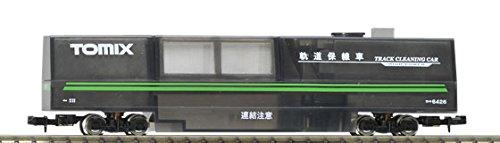 TomyTEC 064268 Schienenreinigungswagen, transparent