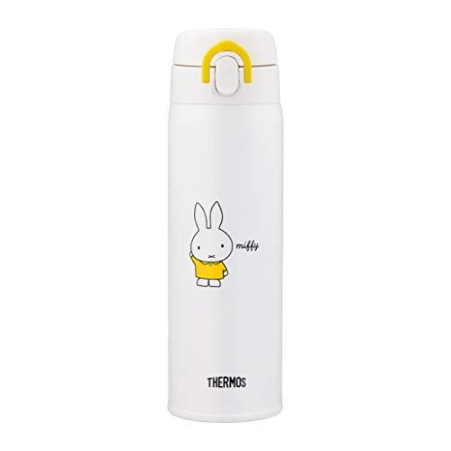 サーモス(THERMOS)調乳用ステンレスボトルミッフィーミルク作りに最適なステンレス製魔法びん容量0.5Lイエローホワイト(YWH)500mlJNX-501B