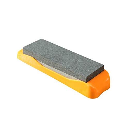 SHT Piedra de afilar - Hogar Piedra de afilar - multifunción afilador de Cuchillos - Antideslizante Grueso Doble Cara Sacapuntas Sacapuntas