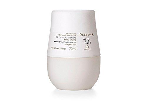 Linha Todo Dia (Sem Perfume) Natura - Desodorante Antitranspirante Feminino Roll-On 70 Ml - (Natura Every Day ( No Fragrancy) Collection - Roll-On Antiperspirant Deodorant For Women 2.36 Fl Oz)