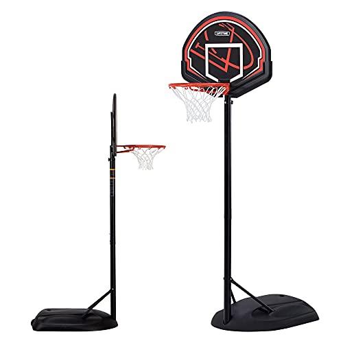LIFETIME 90022 - Canasta baloncesto resistente altura regulable 168/229 cm UV100