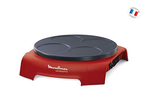Moulinex PY312511 Crepera, 720 V, color rojo