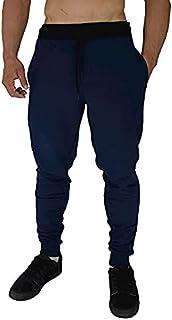Calça Masculina Moletom Slim MXD Conceito Azul Marinho Clássico