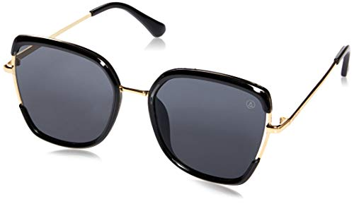 Óculos de Sol Zola, LES BAINS, dourado preto, único