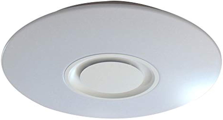 Wansheng - Smart Blautooth Musik LED Deckenleuchte Handy Fernbedienung Musik Licht Wohnzimmer Schlafzimmer 24W (MF00109 Typ)