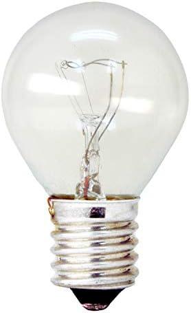 GE Appliance Incandescent Light Bulb S11 Light Bulb 40 Watt 440 Lumen E17 Base White 1 Pack product image