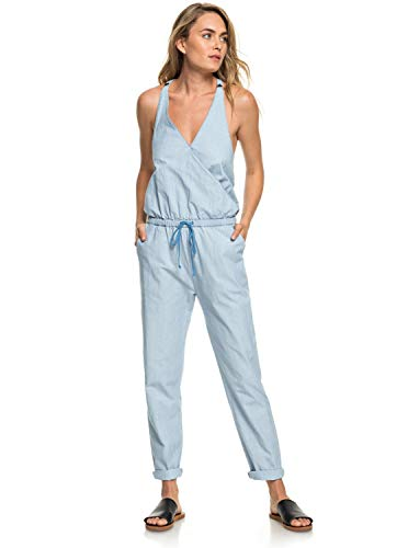 Roxy Pretty - Strappy Jumpsuit for Women - Träger-Jumpsuit - Frauen - M - Blau