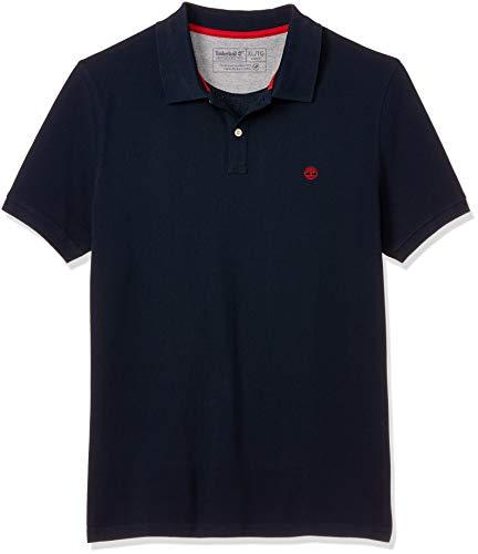 Timberland SS MR Polo Slim Dark Sapphire T-Shirts & Poloshirts Hommes Marine - XL - Polohemden