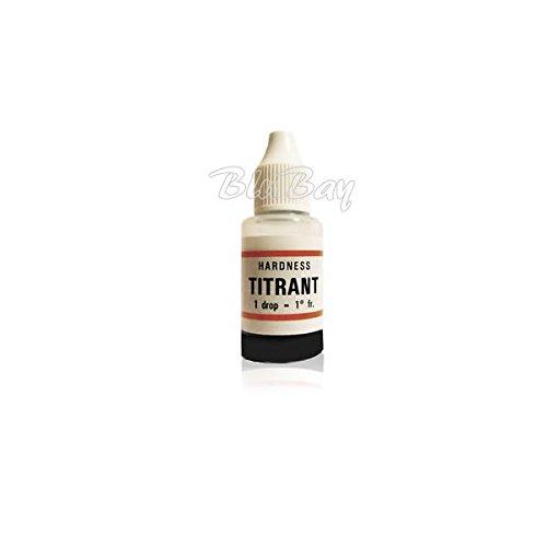 BLUBAYSHOP Titrant Kit durezza Acqua per addolcitori per misurare calcare (Confezione da 2 Pezzi)