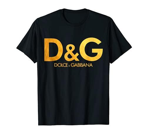 Divertido Retro Dome.nico Gab.bana y Stefano Dol.ce Vintage Camiseta