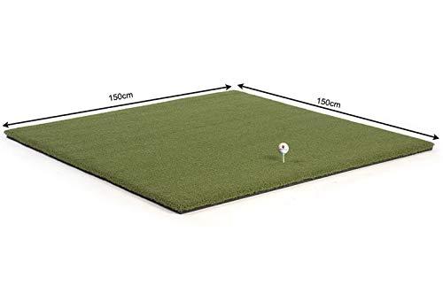 QUICK STAR Tee Abschlagmatte 150x150cm Chippen Eisenabschläge Wintermatte Golf