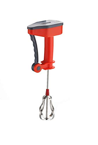ENTITY Power-Free Hand Blender and Beater with High Speed Operation for Curd, Egg & Cream Beater, Milkshake, Lassi, Butter Milk Mixer Beater,Hand Blender for Kitchen (Multi Colors)