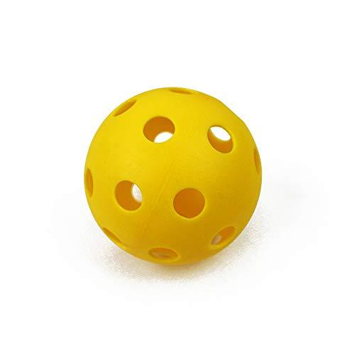 Fliyeong Pickleball Balls - Professional Patented 26 Hole Design Pickleball Balls, Indoor & Outdoor Pickleballs, High-vis Optic Yellow Pickleball Balls, USAPA Approved Pickleball Balls.