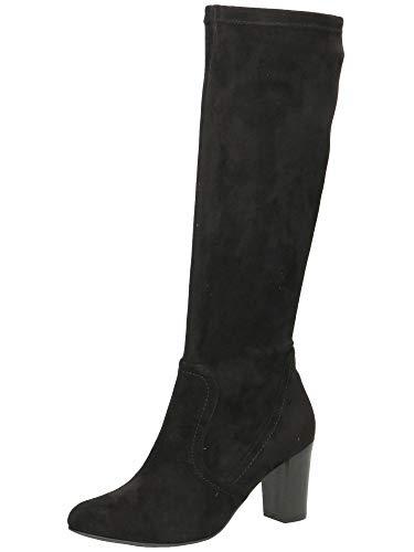 CAPRICE Damen Stiefel 9-9-25502-25 044 schwarz G-Weite Größe: 39 EU