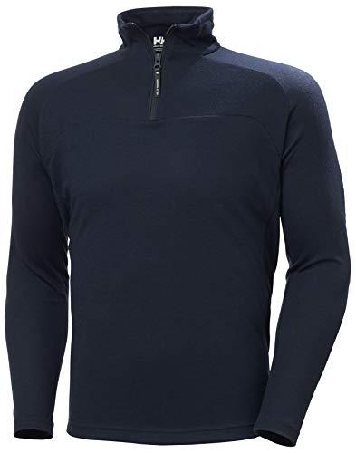 Helly Hansen HP 1/2 Zip Pullover, Midlayer Uomo, Marina Militare, L