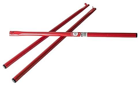 Garcima 5020096 Paelleros Gas (Juego 3 Patas), Compuesto, Rojo